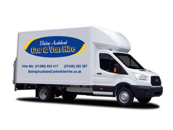 Luton Van with Tail Lift Hire