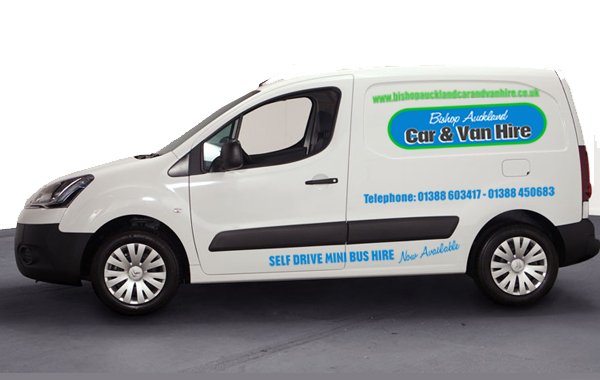 Small berlingo van hire county durham