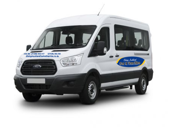 9 Seater Mini Bus Hire Bishop Auckland